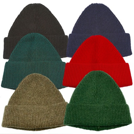 Farlows Lambswool 'Beanie Style' Watchcap