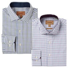 Schoffel Milton Tailored Cotton Shirt