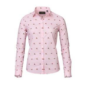 Laksen Lady Flush Pheasant Print Cotton Shirt