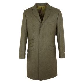 Farlows Long Covert Tweed Coat