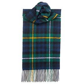 Farlows Campbell of Argyle Modern Lambswool Scarf