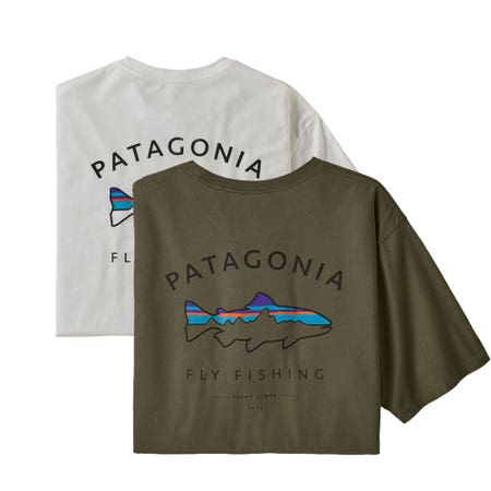 Patagonia Framed Fitz Roy Trout Organic T-Shirt