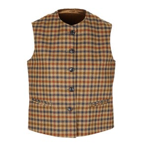 Farlows Ladies Tweed Jerkin Waistcoat