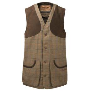 Schoffel Ptarmigan II Arran Tweed Shooting Waistcoat