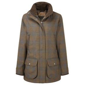 Schoffel Ptarmigan Ladies Iona Tweed Shooting Coat