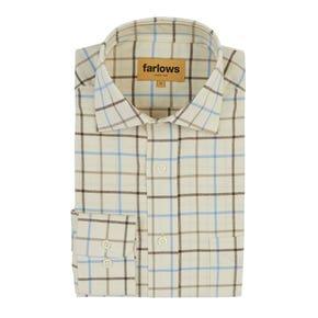 Farlows Tattersall Large Check Shirt