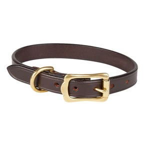 Farlows Bridle Leather Dog Collar