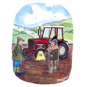 Oliver Preston Gift Card - Traffic Wardens Around Here...
