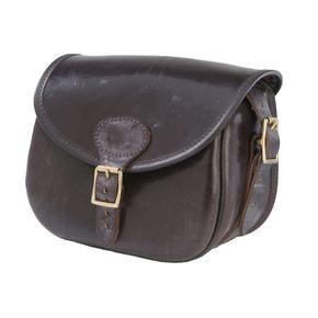 Croots Malton Bridle Leather Cartridge Bag