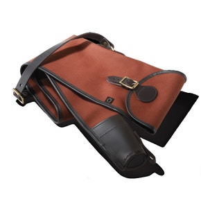 Croots Roll Up Canvas and Leather Gun Slip