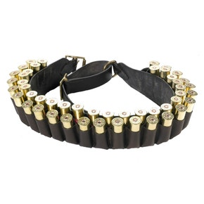 J.P Leather 12 Gauge Double Cartridge Belt