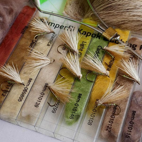 Fly tying materials and supplies