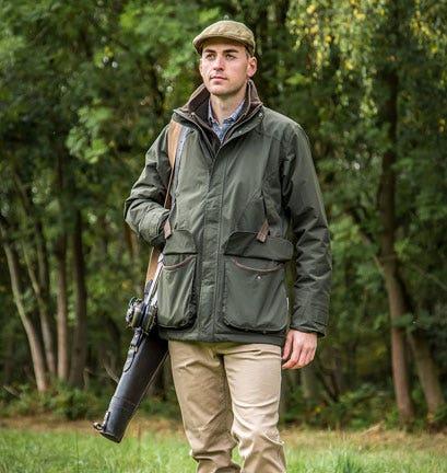 SCHOFFEL SNIPE II WATERPROOF SHOOTING JACKET