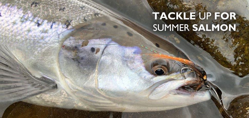 Tackle Up for Summer Salmon