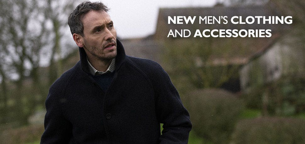 New Men's Clothing and Accessories