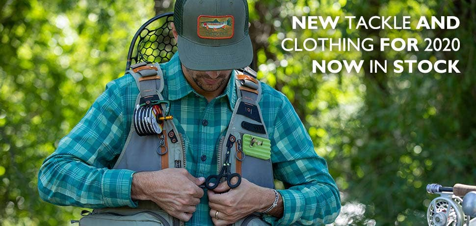New Tackle and Clothing Now In Stock