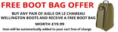 FREE Boot Bag