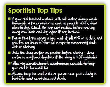 Fly Reel Top Tips