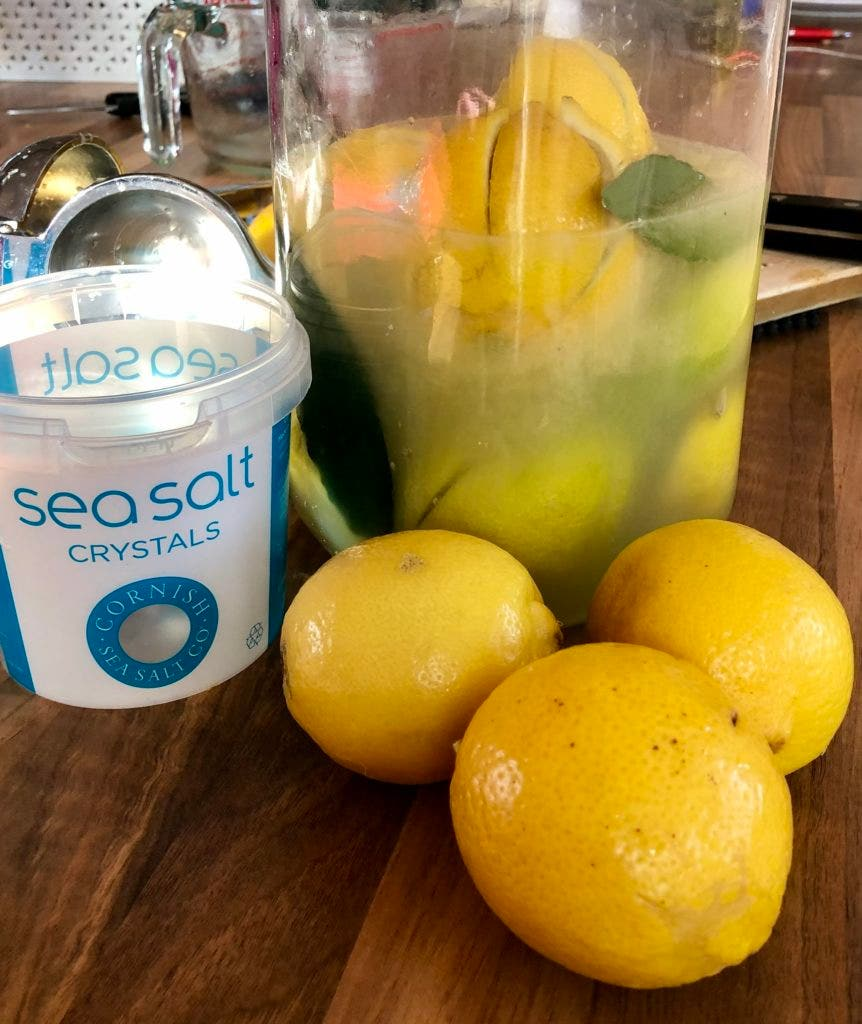 Preserving your own lemons is simple, and the result will beat anything you can buy in the UK