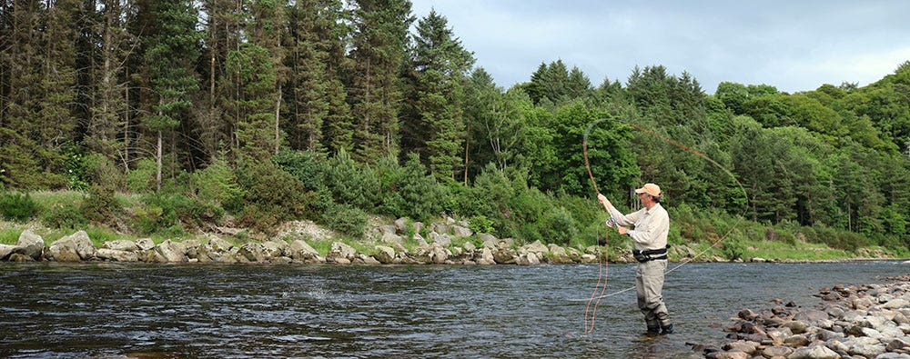 How to fish for Atlantic salmon